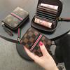 2020欧美大牌拉链卡包女式信用卡套小零钱包小巧风琴卡片包潮