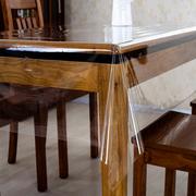 pvc薄款下垂餐桌垫透明塑料软质玻璃台布保护膜 防水免洗桌布